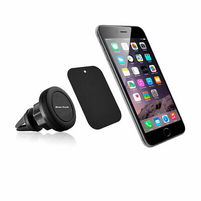 360 Degree Rotate Magnetic Car Mount Air Vent Cell Phone GPS Cradle Holder Stand