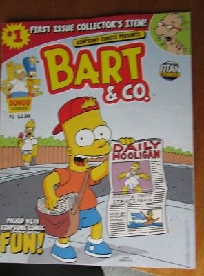 Issue #1 Bart & Co. -  Simpsons Comics - 2013 - excellent condition - British
