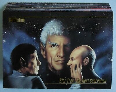 1993 Skybox Star Trek Masters Series - Lot of 20 Cards - Lot D