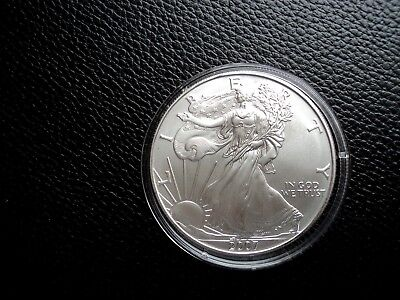 SILVER EAGLE 2007,  1 Oz Silber 999 American Liberty in Kapsel