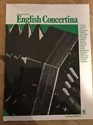 Handbook for ENGLISH CONCERTINA, Roger Waton