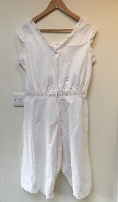 Genuine Antique Victorian Underwear Chemise and Drawers Bloomers Combination