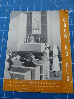 Vintage Programme From 1959 - St Joseph's Home Blessing Of New Extensions