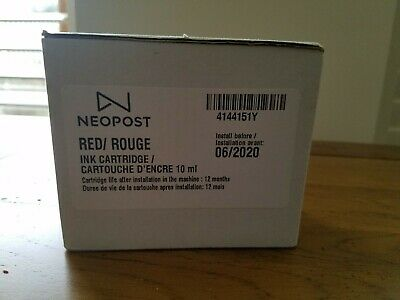 Neopost franking red ink cartridge 4144151Y
