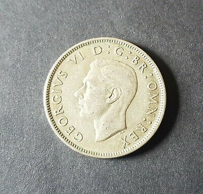 1944 UK Coin Florin Two Shillings George VI