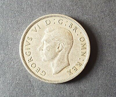 1951 UK Coin Florin Two Shillings George VI
