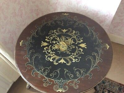 inlaid Round Table