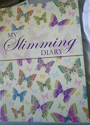my slimming diary A5 diet food shopping planner