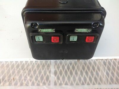 M.E.M contactor 3 phase 415 volts foward / reverse  used