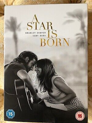 A Star Is Born - DVD - Bradley Cooper, Lady Gaga - 2018 *NEW & SEALED*