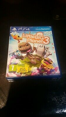 Little Big Planet 3 Sony Ps4 Game
