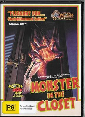 Monster In The Closet - New Region 4 Dvd -  Free Local Post