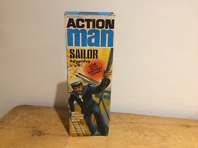 Vintage Action Man Sailor By Palitoy (Box Only)