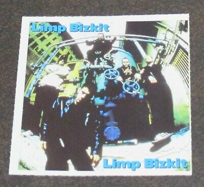Limp Bizkit and South Park Picture Card 2 Sided 1999 RARE!