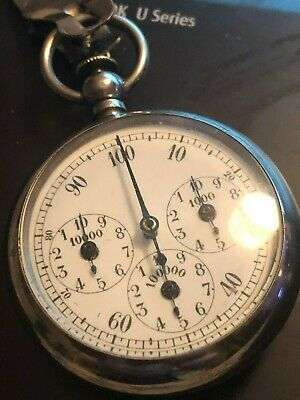VERY RARE Old pedometer by Henri Chatelain 19th century PERFECT CONDITION WORKS