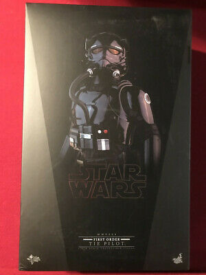 Hot Toys Star Wars First Order Tie Pilot MMS324 Force Awakens Sideshow