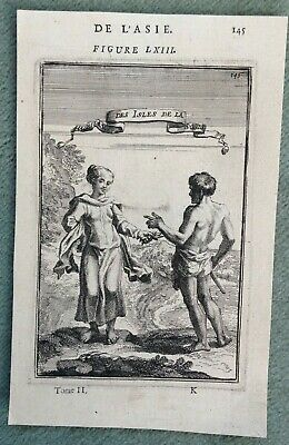 Malaysia Sunda Islands 1683 Alain Manesson Mallet Antique Engraved View
