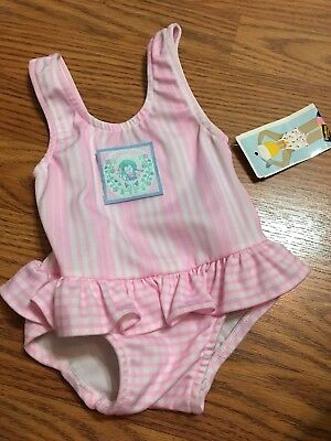 Vintage Baby Bgosh Osh Kosh Pink One Piece Tutu 12 Months USA Oshkosh NEW W/tags