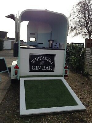 Horse Trailer Mobile Bar, Coffee Bar, Horse Box Catering Trailer, Weddings