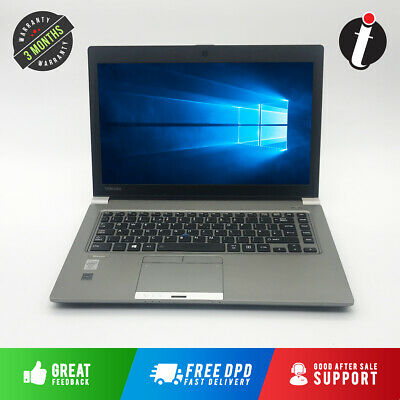 Fast Toshiba Tecra R940 Laptop Intel Core i5 500GB SSD 16GB RAM Windows 10