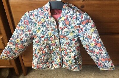 M&S Girls Floral Jacket. Size 12-18 Mths