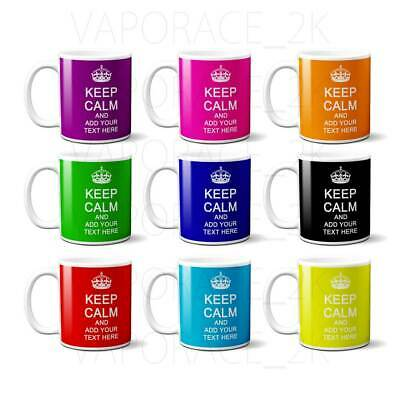 Keep Calm Mug Mum Dad His Her Mummy Daddy Cup Personalised  Any Name Or Message