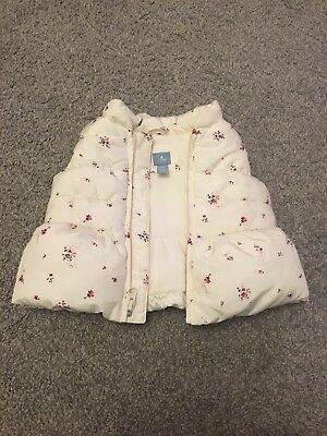Girls Hooded Gillet 6-12 Months, Baby Gap