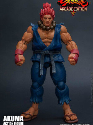 In-Stock 1/12 Scale  6in Storm Toys STREET FIGHTER V ARCADE EDITION AKUMA