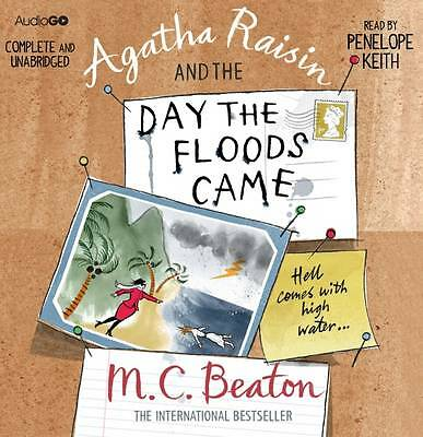 Agatha Raisin And The Day The Floods Came -  6 Cd's  Audio Book - New/sealed