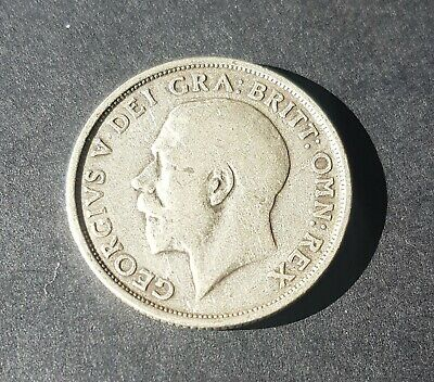 1915 English Silver Coin One Shilling George V