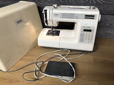 Brother Computer Compel Sovereign 847 UNTESTED, Sewing Machine, In Case And Lead