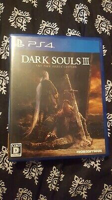 PS4 DARK SOULS III THE FIRE FADES EDITION PlayStation 4