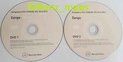 Mercedes NTG4-204 DVD Comand Aps Europe 2015 for C-Klasse (03/2007-10/2008)