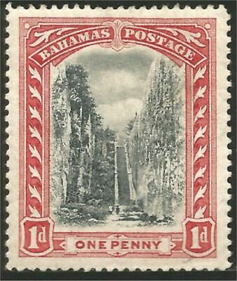 Bahamas 1901 Queen Staircase watermark 1 MH * (170)