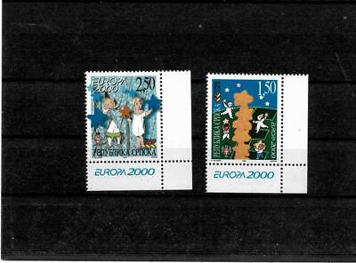 Bosnia, Republic of Srpska 2000, EuropaCEPT set, MNH