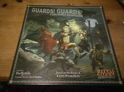 Guards! Guards! A Disc World Board Game, Terry Pratchett, Unplayed And Bagged