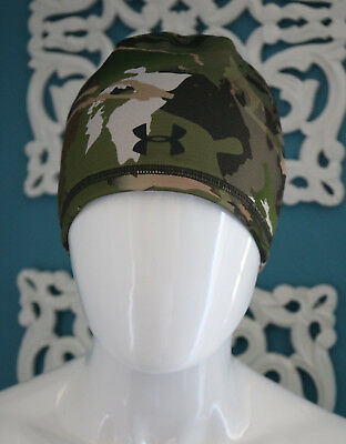 Under Armour UA Outdoor Threadborne 2.0 Ridge Reaper Forest Beanie  1300466-943 5064352d1dfa