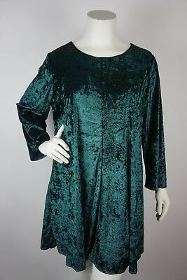 LORD & TAYLOR Context Shift Dress Velvet Green Plus Size 2X - $49.99 ...
