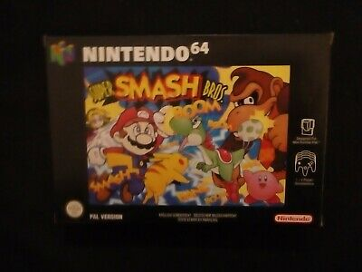 SUPER SMASH BROS New N64 Nintendo 64 -Mint +++++++ Top Collector