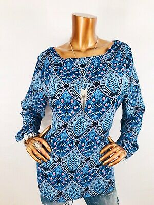 66b6e6ed555966 NWT ANN TAYLOR LOFT Long Sleeve Mixed Media Paisley Blouse $59.50 ...