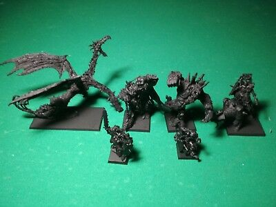 Chaos Lot Galrauch Throgg Crom Archaon Warhammer AoS Age of Sigmar Resin Plastic