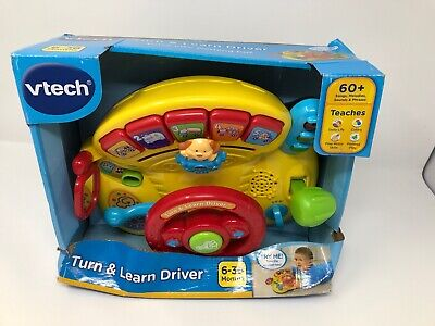 VTech Turn and Learn Driver - DAMAGED BOX
