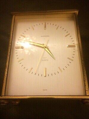 Vintage Garrard Carriage Clock