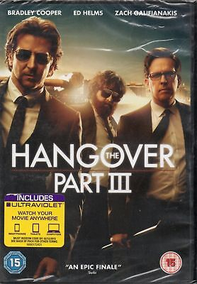 The Hangover Part 3 (With UltraViolet) (DVD) (C-15)**NEW AND SEALED** 2013