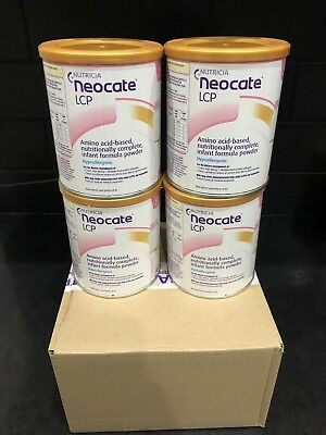 4x Neocate LCP expires April 2020- Brand new