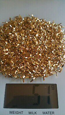 50 grams Fully Gold Plated Pins gold recovery scrap