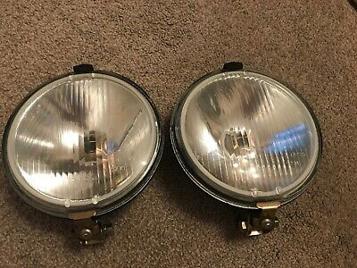 "Pair Of 7"" Spotlights- Hotrod / Classic Car - Used"