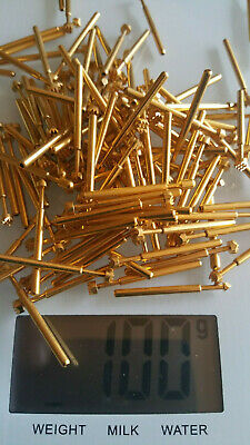 100 grams High Grade Gold Plated Pins for Scrap Recovery