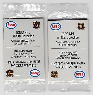 1988 Esso All Star Collection NHL Unopened Pack - Lot of 2
