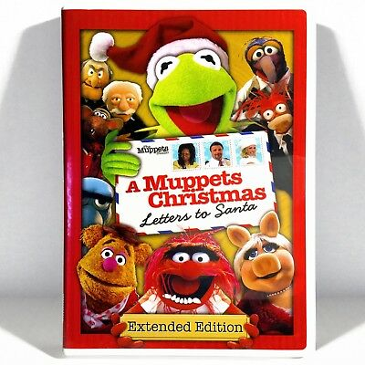 A Muppets Christmas: Letters To Santa (DVD, 2008, Widescreen) Like New !